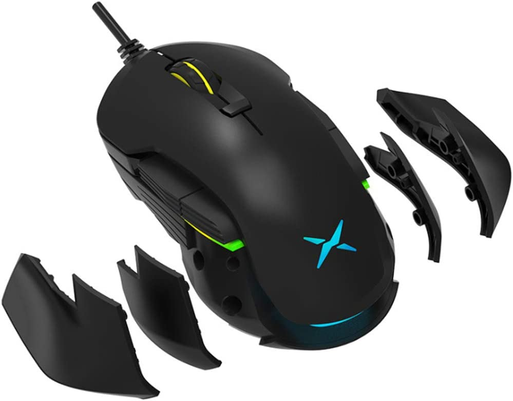 Wired and Wireless Left and Right General CF//LOL Programming Custom USB Computer Suitable for Computer Gaming Experience PLAIPH Mouse