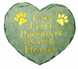 Spoontiques Cats Leave Pawprints Stepping Stone