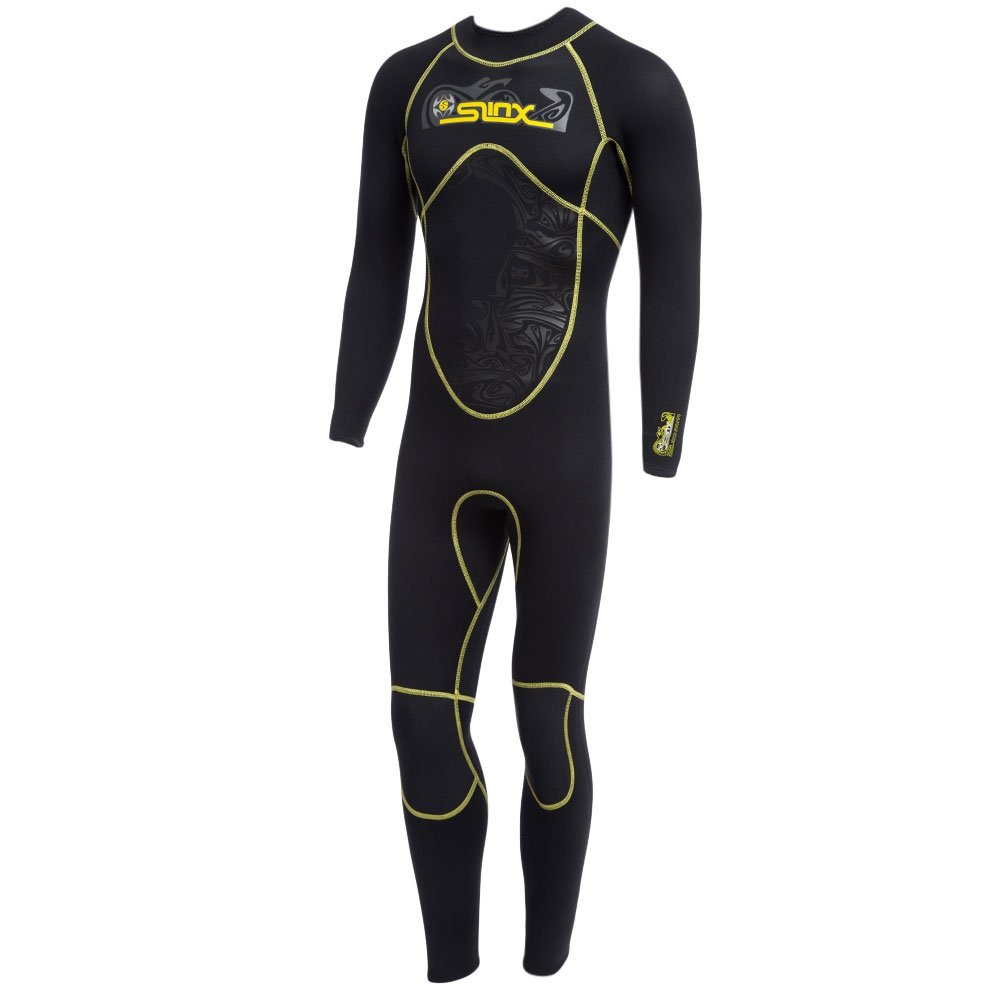 OUTLIFE SLINX Men 3mm Diving Suit/Swimwear/Wetsuit with Long Sleeve Full Body Sunblock for Underwater Operations&Sports 1101 L