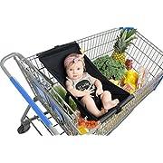 Binxy Baby Shopping Cart Hammock (Black)