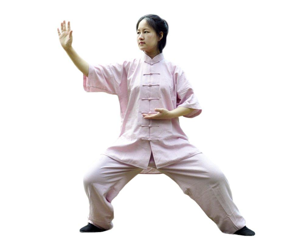 Zooboo Unisex Flachs Baumwolle Tai Chi Uniform Kung Fu passt