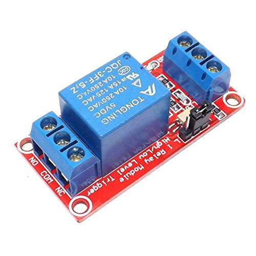 Professional 1 Way Relay Module Mini Size Optical Coupling Isolation Support High & Low Level Trigger Relay Board