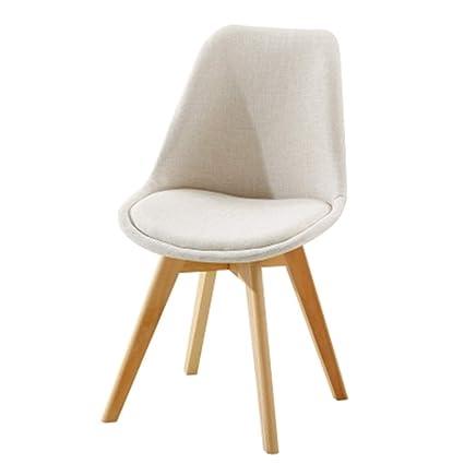 Amazon.com : Dining Chair Lounge Chair Eiffel Cloth Modern ...