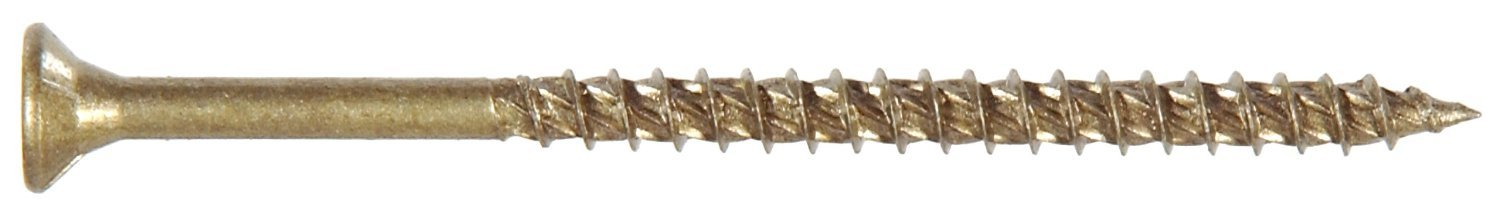 The Hillman Group 41950 Star Power Pro Outdoor Wood Screws, 9 X 2 1/2-Inch