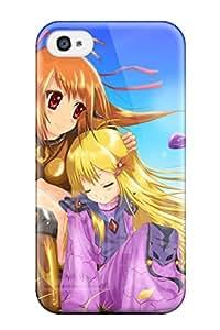 Best anime girls Anime Pop Culture Hard Plastic iPhone 4/4s cases 1636901K500150462