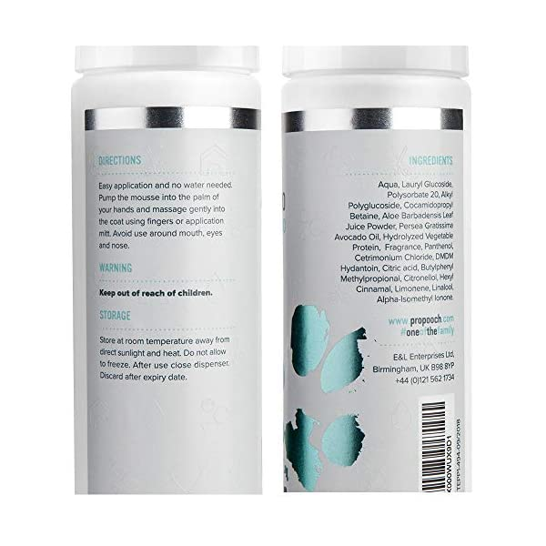 Pro Pooch Dry Shampoo For Dogs (200 ml) Quick Drying Waterless No Rinse Mousse. 2