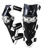 SCOYCO K12 Knee Guard Motorcycle ATV Racing Motocross Pads Protective Armor,White