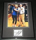 Dick Vitale Signed Framed 11x14 Photo Display JSA w/ Erin Andrews ESPN