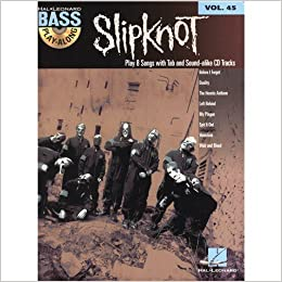 Bass Play-Along Volume 45: Slipknot  CD, Sheet Music for Bass Guitar