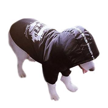 Cool invierno cálido grande grande perro ropa para Pitbull perro snowsuit sudadera con capucha chaleco Golden