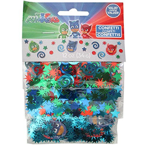 PJ Masks Confetti Value Pack (3 (Mask Confetti)