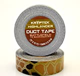 ProTapes Kryptek Highlander Camo Vinyl/Rubber Duct Tape, 10 yd Length, 0.75