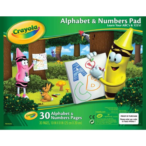 Crayola Alphabet Number Pad Tablet