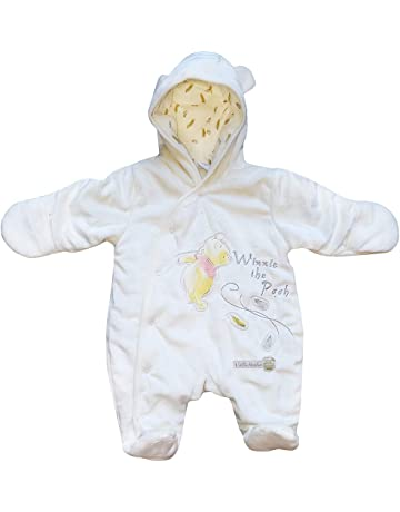Mumustar Newborn Infant Baby Girls Boys Cartoon Tiger Hooded Romper Jumpsuit Outfits Playsuit with Tail