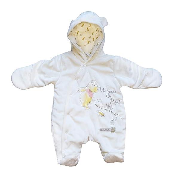 Bebé Polar con Capucha Pelele Mono de Nieve Bebé Pijamas ...