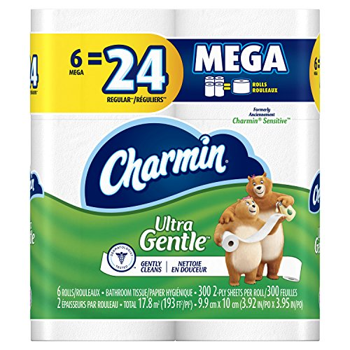 Charmin Ultra Gentle Toilet Packaging product image