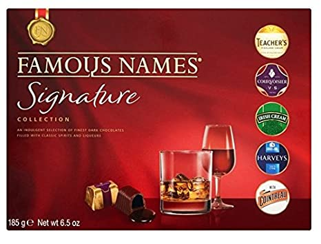 The Signature Collection Gift Box Nombres famosos 165 g (1 caja)