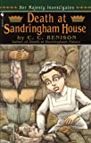 Front cover for the book Death at Sandringham House by C. C. Benison