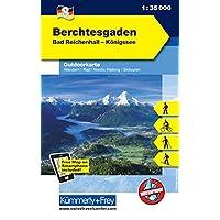 Outdoorkarte 06. Berchtesgaden 1 : 35.000: Bad Reichenhall - Königsee (Kümmerly+Frey Outdoorkarten Deutschland)