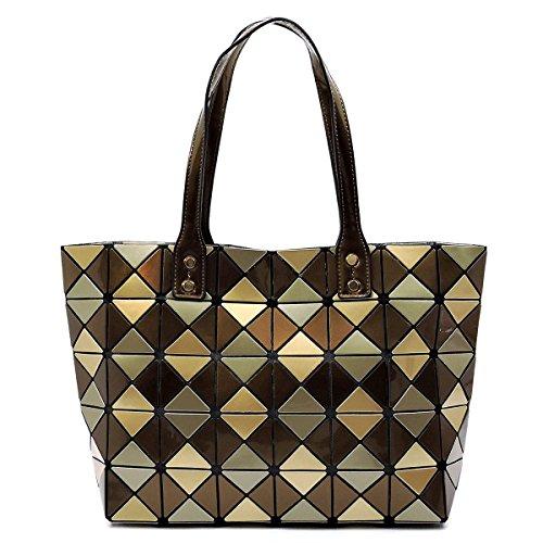 Checkered Brown Bag - 5