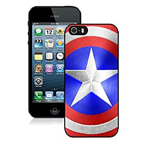 Captain America's Shield iPhone 5 5S Cases 13 Black