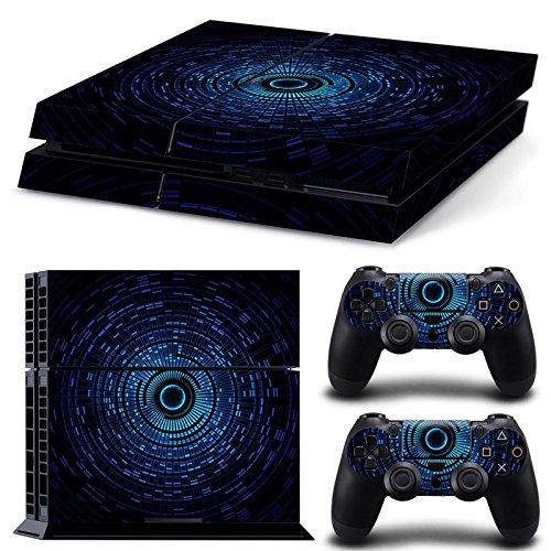 CSBC Skins Sony PS4 Design Foils Faceplate Set - Core Design