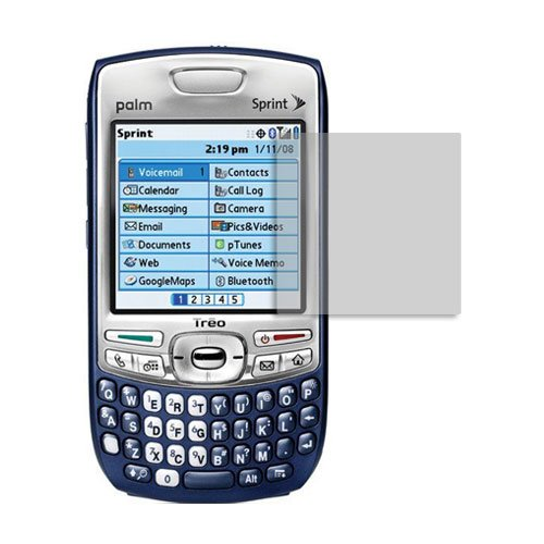 Palm Treo Screen Protector (600,650,680,700,750), Skinomi TechSkin Full Coverage Screen Protector for Palm Treo Clear HD Anti-Bubble Film