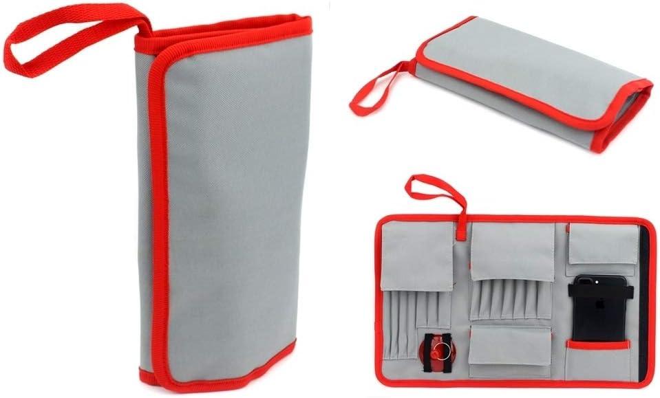 JF-8175 28 in 1 Electronics Repair Tool Kit with Portable Bag for Repair Cell Phone iPhone Repairs Kits Repairs Tools MacBook and More
