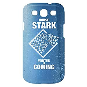 Loud Universe Samsung Galaxy S3 House Stark Winter Is Coming Print 3D Wrap Around Case - Blue/White