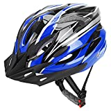 JBM Adult Cycling Bike Helmet Specialized for Men Women Safety Protection CPSC Certified (18 Colors) Black/Red / Blue/Pink / Silver Adjustable Lightweight Helmet with Reflective Stripe and Removal Review