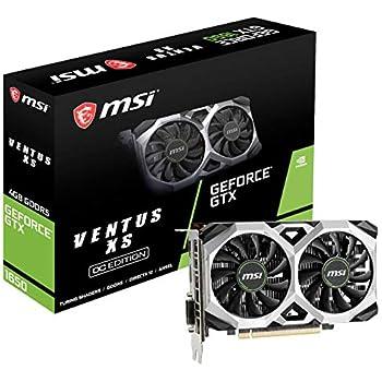 Amazon.com: MSI Computer V809-2277R Video Card (GTX 1050 TI ...
