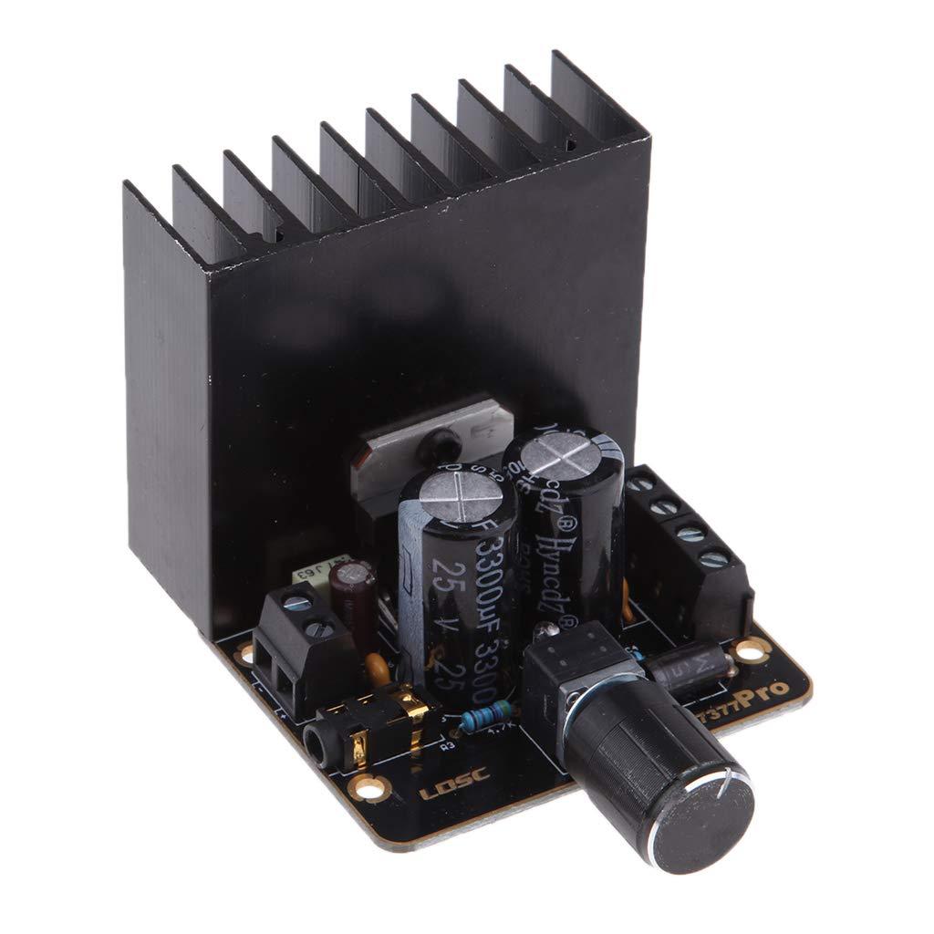 perfk Dual Canales 30W + 30W Amplificadores de Potencia para Altavoz del Sistema de Audio DIY