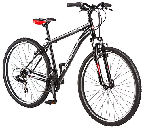 Schwinn High Timber Mountain Bicycle, Matte Black, 29-Inch