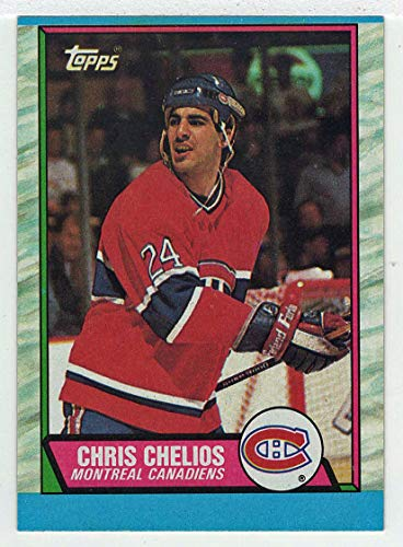 Chris Chelios (Hockey Card) 1989-90 Topps # 174 ()