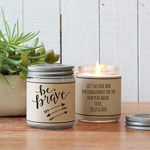 Be Brave - Inspirational Candle Gift