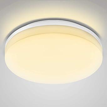 Lighting Ever Le Deckenleuchte Wasserfest Led Deckenlampe 24w 2400lm