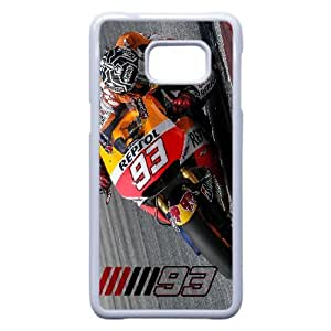 Marc Marquez 93 For Samsung Galaxy S6 Edge Plus White Custom Cell Phone Case Cover 99II927149