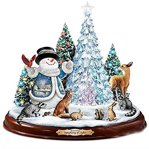 (MXJSUA 5D Diamond Painting Round Drill Kits for Adults Pasted Embroidery Cross Stitch Arts Craft for Home Wall Decor Christmas Symphony Lights 12x12in)