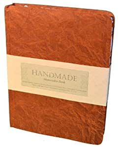 Global Art Materials Hand-book Journal Handmade Watercolor Book, 9-Inch-by-12-Inch, Portrait