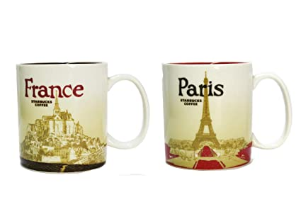 Paris Mug Icône Lot Starbucks À De France Global Collection Deux UVpSzM