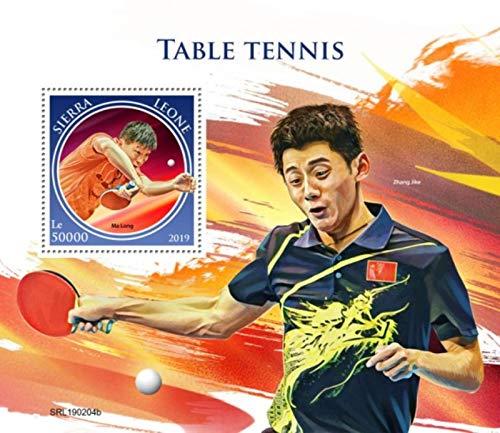 Sierra Leone - 2019 Table Tennis - Stamp Souvenir Sheet - SRL190204b (Best Ping Pong Table 2019)