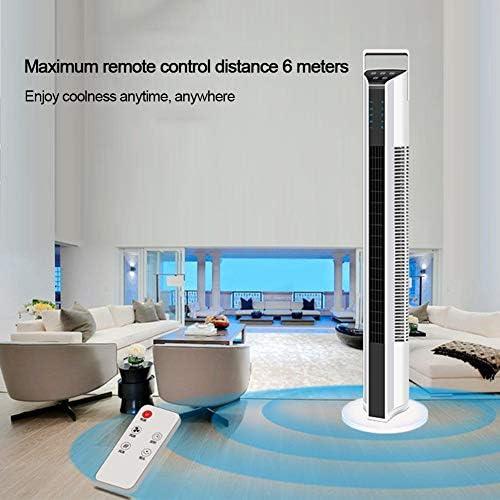 Drie Block Household Remote Control Tower Fan Ventilator van de Vloer Hoofd schudden Bladloze Fan Tower Mute Vertical Bladloze Desktop Fan ujVOa3Qf