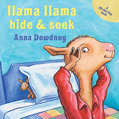 Book Cover: Llama Llama Hide & Seek: A Lift-the-Flap Book