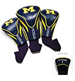 Best Team Golf Golf Socks - University of Michigan Contour Sock Headcovers (3 pack) Review