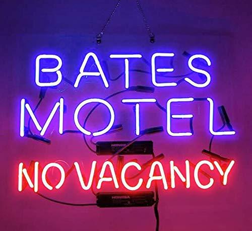 Bates Motel Sign (Bates Motel No Vacancy Beer Bar Pub Store Party Room Wall Windows Display Neon Signs)
