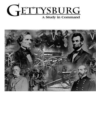 Gettysburg: A Study in Command pdf epub