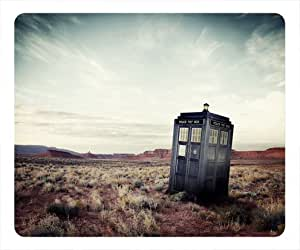 Doctor Who Tardis Rectangle Mouse Pad by ieasycenter