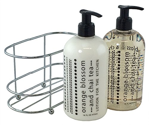 3 Pc Gift Set - Orange Blossom and Chai Tea Duo in Caddy