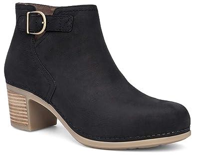 9830a5bb354 Dansko Women s Henley Boot Black Nubuck Size 36 Regular EU