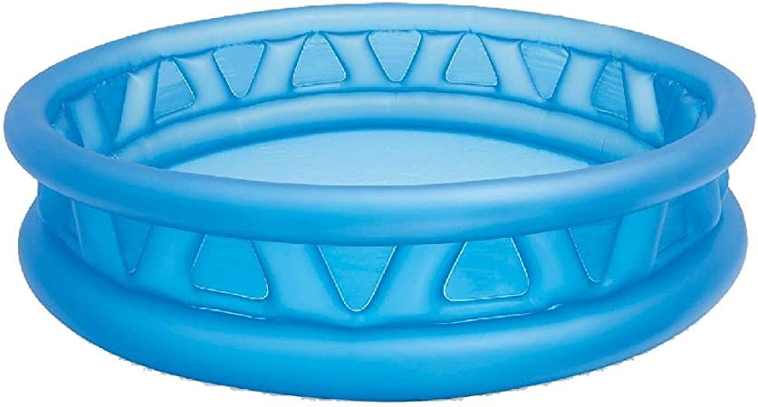 Intex 58431NP - Piscina hinchable de relieve azul 188 x 46 cm, 790 litros
